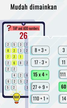 Game Matematika - Tingkatkan Matematika screenshot 4
