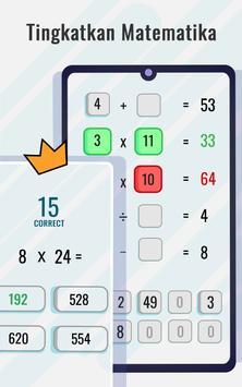 Game Matematika - Tingkatkan Matematika screenshot 9