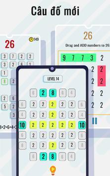 Trò chơi toán học và câu đố - Rèn luyện não ảnh chụp màn hình 1