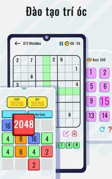 Trò chơi toán học và câu đố - Rèn luyện não ảnh chụp màn hình 2