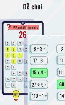 Trò chơi toán học và câu đố - Rèn luyện não ảnh chụp màn hình 4