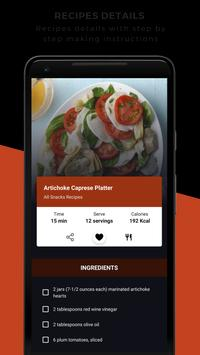 Snacks Recipes screenshot 2