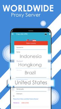 USA VPN - Unblock Site App & Game - Free Proxy VPN for