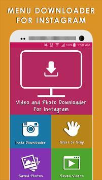 Fast Downloader for Instagram poster