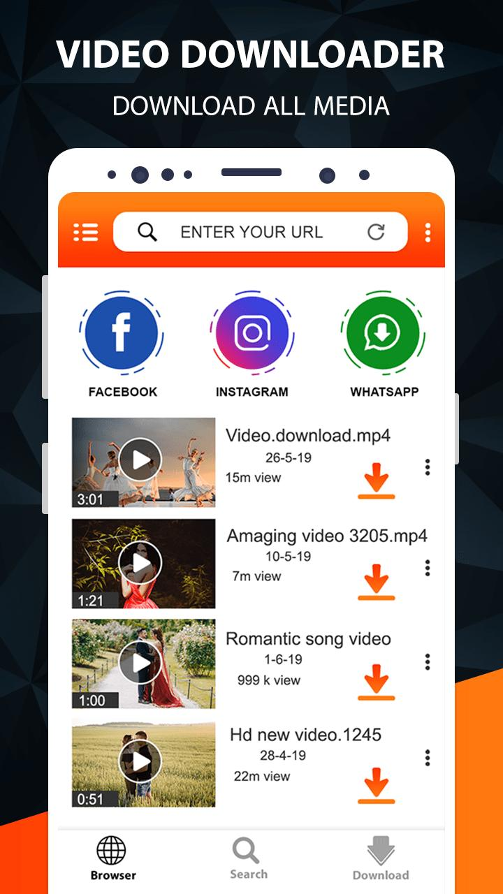 Free Video Downloader App Save From Net For Android Apk Download