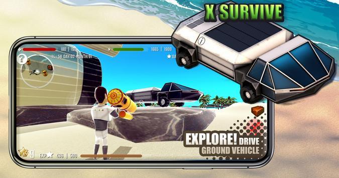 X Survive screenshot 1