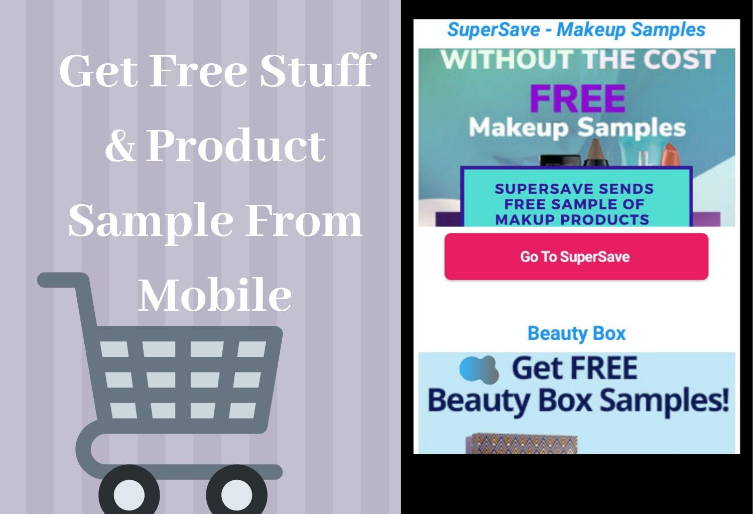 Free Stuff Product Samples Gift
