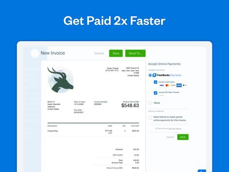 FreshBooks screenshot 9