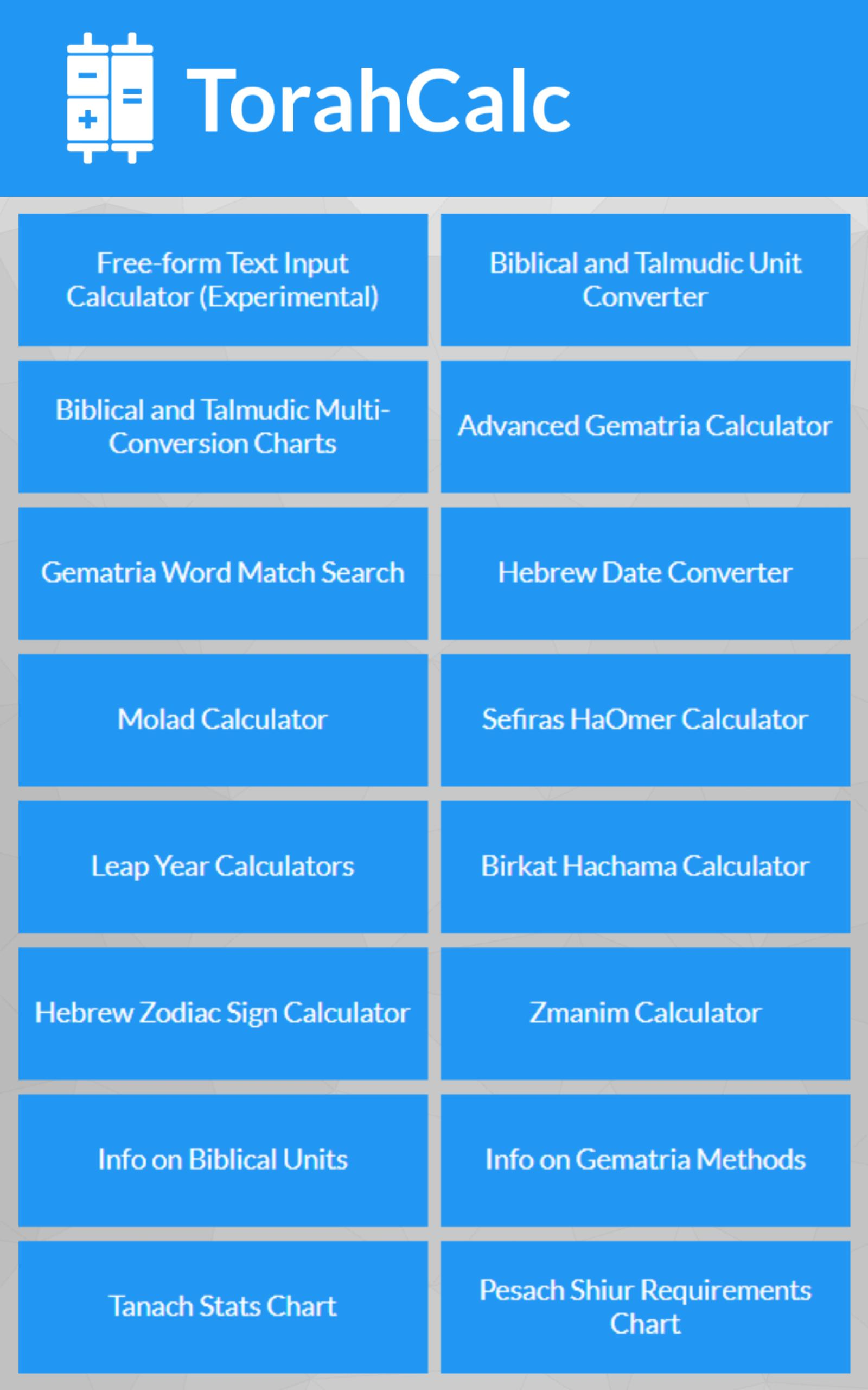 Torahcalc For Android Apk
