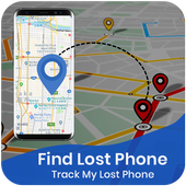 Find Lost Phone Track My Lost Phone icon