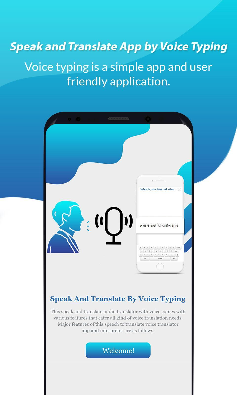 Speak and Translate App Translator by Voice Typing for