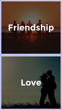 Friendship and Love Test poster