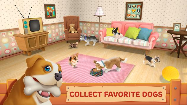 Dog Town: Pet Shop Game, Care & Play with Dog الملصق