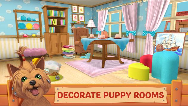 Dog Town: Pet Shop Game, Care & Play with Dog تصوير الشاشة 11