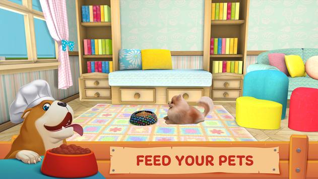 Dog Town: Pet Shop Game, Care & Play with Dog تصوير الشاشة 3