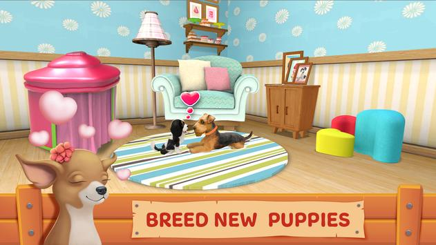 Dog Town: Pet Shop Game, Care & Play with Dog تصوير الشاشة 7