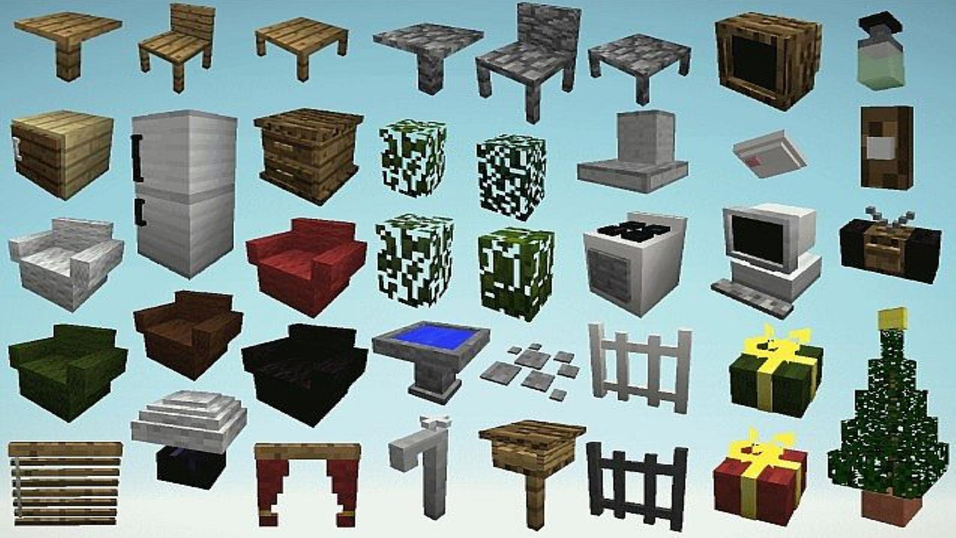 моды для майнкрафт 1.10.2 на мебель #5