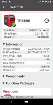 Fronius WELDCONNECT screenshot 6