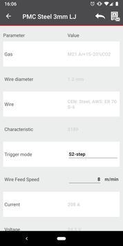 Fronius WELDCONNECT screenshot 7