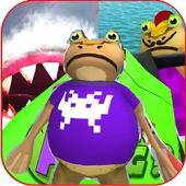 Frog Battle amazing Vs Shark icon