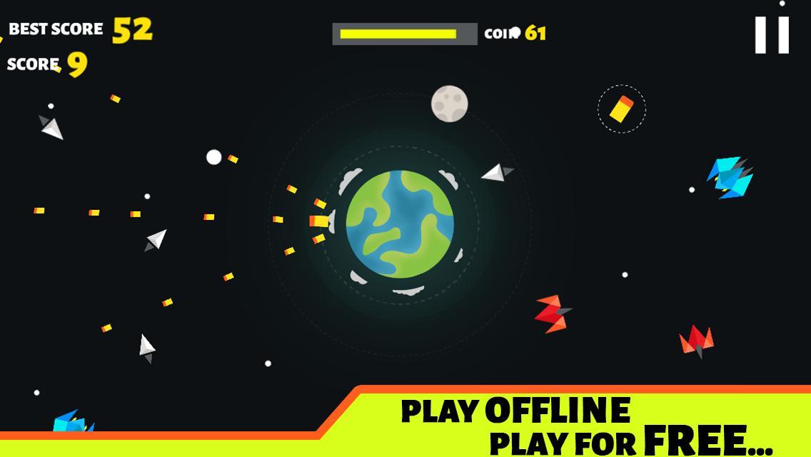 Planet Defender War Space Bomber Alien Strike For Android