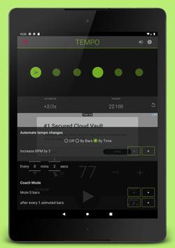 11 Schermata Metronome: Tempo Lite
