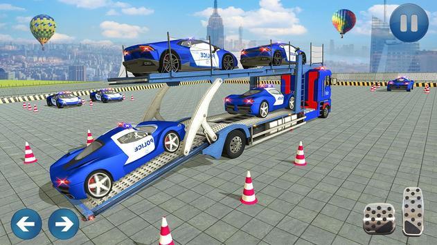 Car Transporter Truck Simulator-Cargo Truck Driver poster