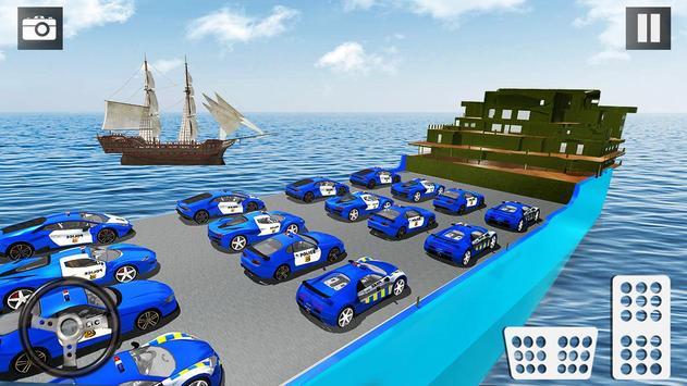 Car Transporter Truck Simulator-Cargo Truck Driver screenshot 13