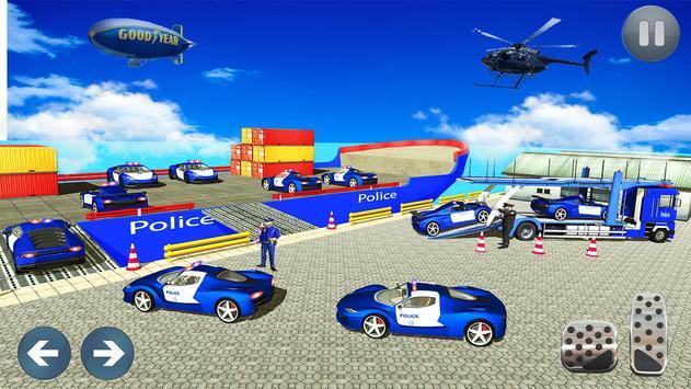 Car Transporter Truck Simulator-Cargo Truck Driver screenshot 19