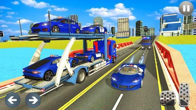 Car Transporter Truck Simulator-Cargo Truck Driver screenshot 4