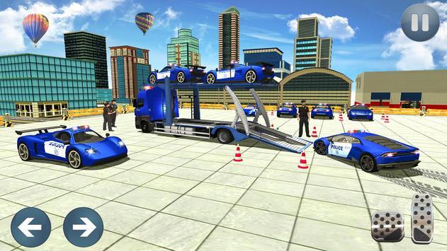 Car Transporter Truck Simulator-Cargo Truck Driver screenshot 9