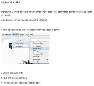 Siskeudes - Panduan Penatausahaan screenshot 4