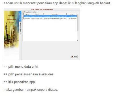 Siskeudes - Panduan Penatausahaan screenshot 5