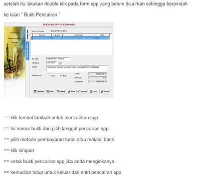 Siskeudes - Panduan Penatausahaan screenshot 10