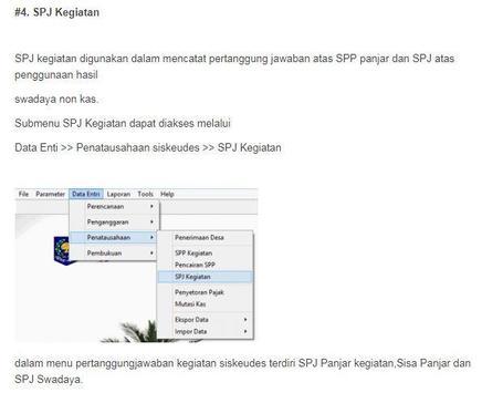 Siskeudes - Panduan Penatausahaan screenshot 11