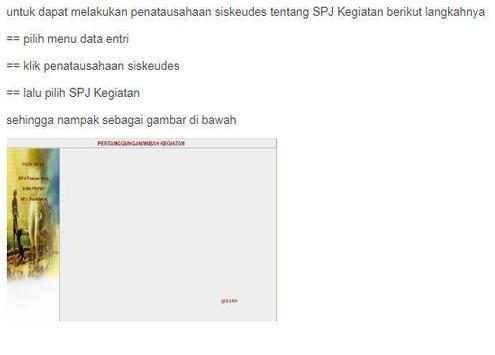 Siskeudes - Panduan Penatausahaan screenshot 18