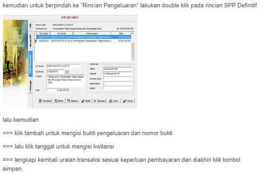 Siskeudes - Panduan Penatausahaan screenshot 19