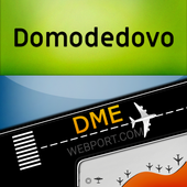 Domodedovo Moscow Airport (DME) Info + Tracker icon