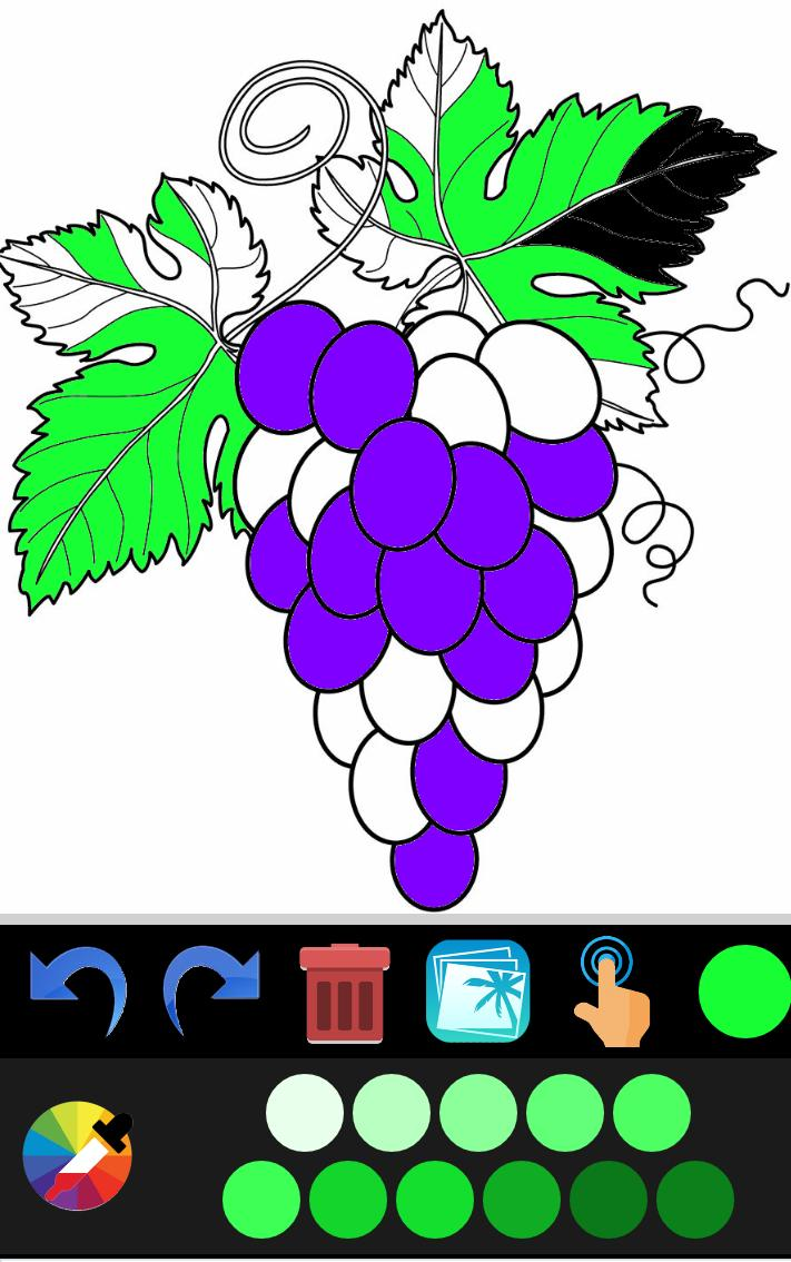 fruits and vegetable coloring pages for Android - APK Download
