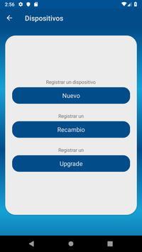 Mobile Registry imagem de tela 1