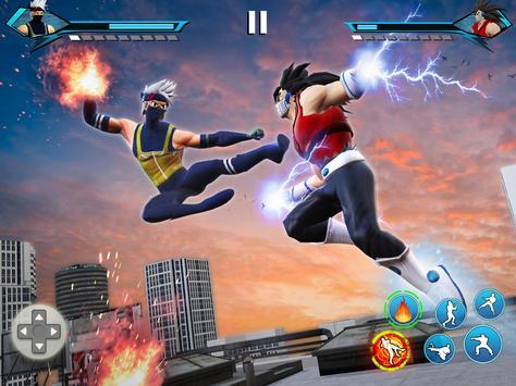 Juegos de Lucha Karate King: súper pelea Kung Fu captura de pantalla 4