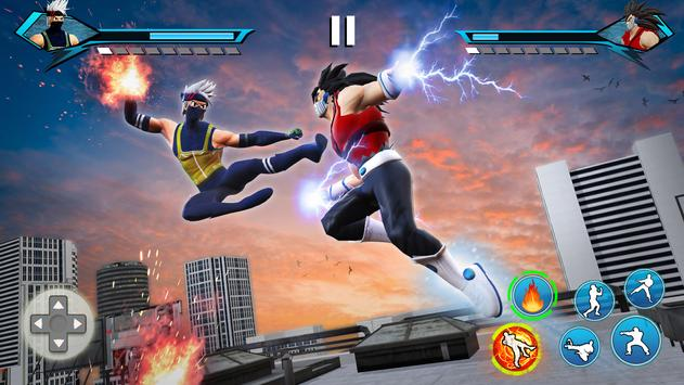 Juegos de Lucha Karate King: súper pelea Kung Fu Poster