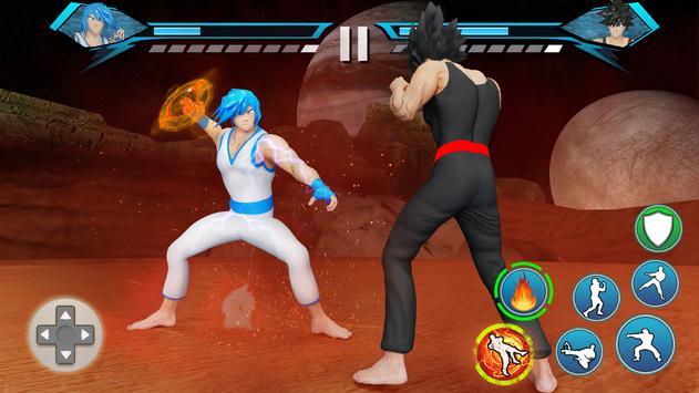 Juegos de Lucha Karate King: súper pelea Kung Fu captura de pantalla 1