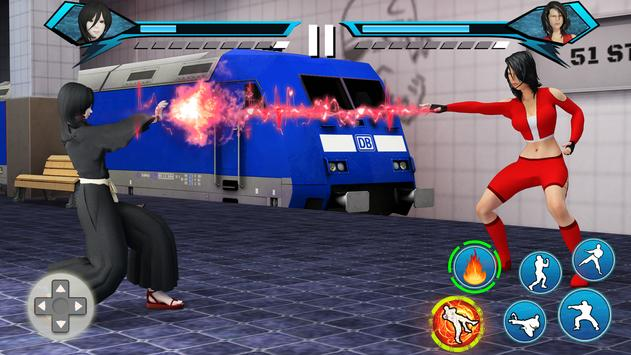 Juegos de Lucha Karate King: súper pelea Kung Fu captura de pantalla 2
