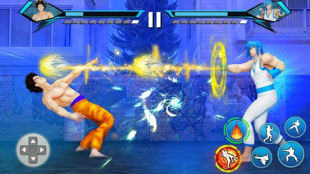 Juegos de Lucha Karate King: súper pelea Kung Fu captura de pantalla 3