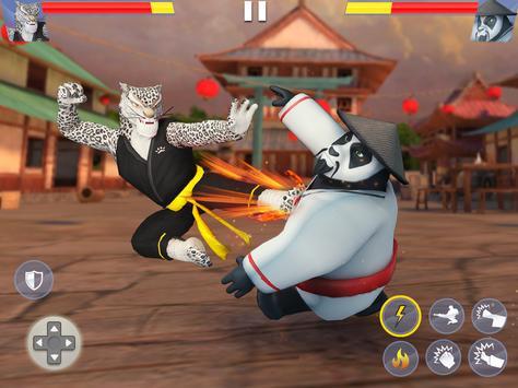 Kung Fu Animal Fighting Games: Wild Karate Fighter screenshot 8