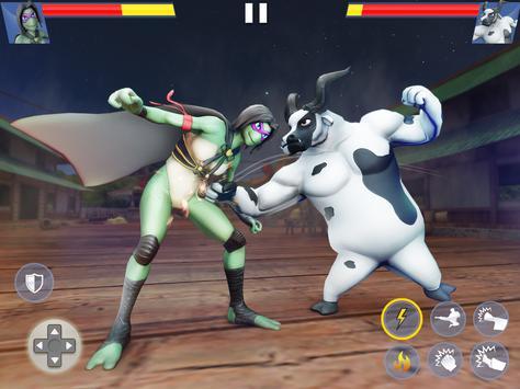 Kung Fu Animal Fighting Games: Wild Karate Fighter screenshot 9