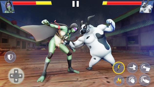 Kung Fu Animal Fighting Games: Wild Karate Fighter screenshot 1