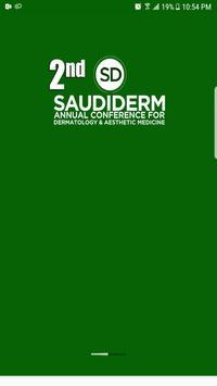2nd Saudi Derm 2019 poster