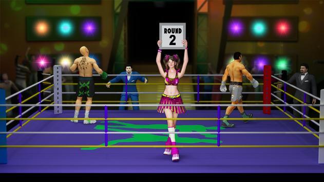拳擊遊戲:拳擊健身房訓練大師 截圖 2